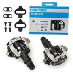 New PD-M520 MTB Mountain Bike Clipless Pedals with SPD Compa