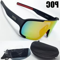 POC 3 Lens Mountain Bike Goggles Cycling Eyewear Cycling Gl