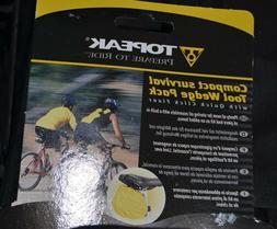 new survival tool wedge pack bicycle bike