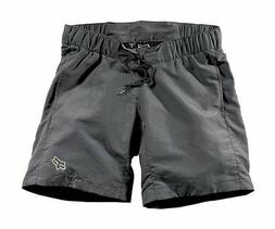 NEW WITH TAGS FOX RACING WOMEN/'S PADDED MOUNTAIN BIKE BASE SHORTS SMALL BLACK S
