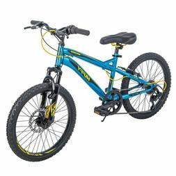 "Huffy 24"" Nighthawk Boys' Mountain Bike, Blue"
