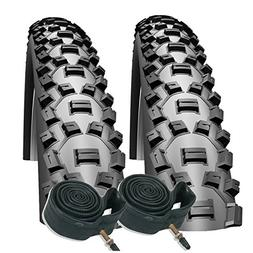 "Schwalbe Nobby Nic 26"" x 2.1 Mountain Bike Tyres with Presta"