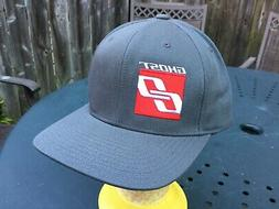 NWOT GHOST Mountain Bike Snapback Cap Hat The Classic Gray