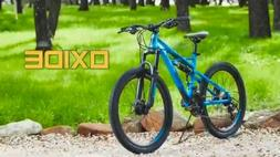 Huffy Oxide 24-inch Boys Mountain Bike for Men, Blue, new in
