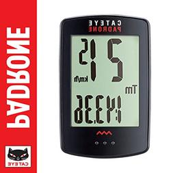 CAT EYE - Padrone Wireless Bike Computer, Black