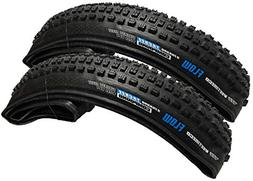 Pair of 2 Vee Tire Flow 27.5x2.40 Bicycle Tires Folding Bead