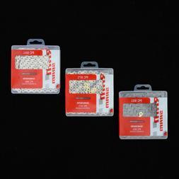 SRAM PC-951 PC-971 PC-991 9Speed Bike Chain 114 Links Gray -