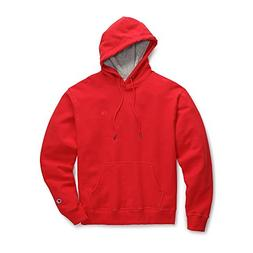 Champion Men's Powerblend Sweats Pullover Hoodie Team Red Sc