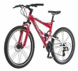 Schwinn Protocol 1.0 Men's Dual-Suspension Mountain Bike, 26