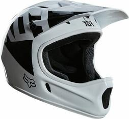 Fox Racing Rampage Full Face Helmet: Landi White Glossy LG