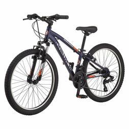 "Schwinn Boy Ranger 24"" Mountain Bike- Silver/Red"