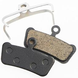 Juscycling Replacement Resin Organic Semi-Metal Brake Pads f