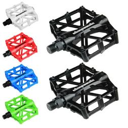 "Road Mountain Bicycle Pedals 9/16"" Aluminum MTB BMX Cyclin"