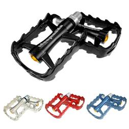 road mountain bike platform pedals flat mtb