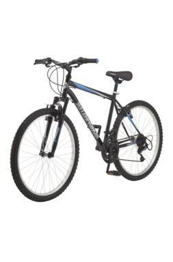 "Granite Peak Men's Mountain Bike, 26"" wheels, Black/Blue"