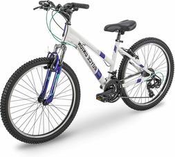 Royce Union RTT  21-Speed Mountain Bike, Aluminum Frame, Whi