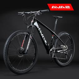"SAVA DECK6.0 Carbon Fiber Mountain Bike, 27.5"" Complete Hard"