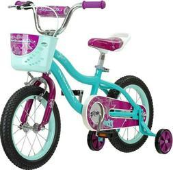 Schwinn Elm Girls Bike for Toddlers and Kids, 14-Inch Wheels
