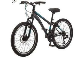 Schwinn Sidewinder mountain bike, 24 inch wheels, 21 speeds,