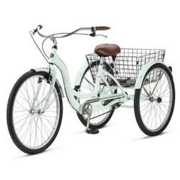 Adult Schwinn Tricycle Three  Wheeled Trike Men's Women's Bi