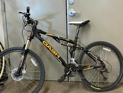 Head Seek Full suspension mountain bike 17 in