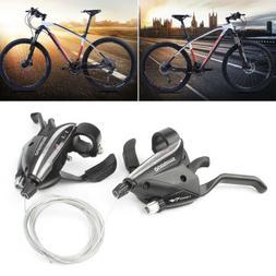SHIMANO ST-EF65-8 MTB Bike Brake Levers & Shifter Levers Set