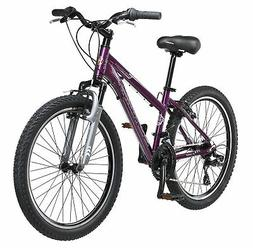 24' Schwinn Sidewinder Girl's Bike, Purple