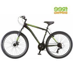 Schwinn Sidewinder Men's Mountain Bike Matte Black/Green 26'