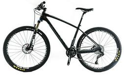 "KHS SixFifty 800 17"" Medium 650B / 27.5"" Carbon Hardtail MTB"