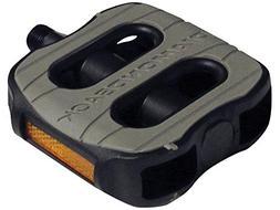 Diamondback 9/16-Inch Spindle Bicycle Comfort Pedal, Black/G
