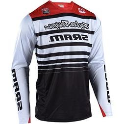 Troy Lee Designs Sprint Long-Sleeve Jersey - Men's Sram Whit