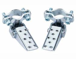 Lowrider Steel Foldable Fork Step Chrome. Pegs for bike, bic