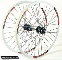 "Sun MTX29 26"" Wheel set Formula 6-Bolt Disc QR Hubs Black"