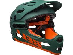 Bell Super 3R Mips Matte Green Orange Mountain Bike Helmet S
