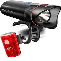 Cycle Torch SUPER BRIGHT USB Rechargeable Bike Light Shark 3