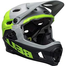 Bell Super DH MIPS Bike Helmet - Unhinged Matte/Gloss Gray/G