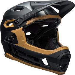 Bell Super DH MIPS Bike Helmet - Matte/Gloss Black/Gum Small