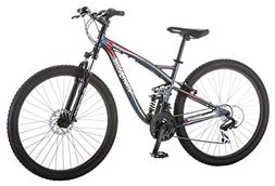 Mongoose 27.5 inches Unisex Full Suspension Status 2.4 Bike