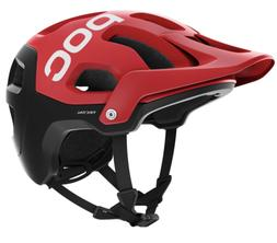 POC Tectal Mountain Bike Enduro Cycling Helmet Prismane Red
