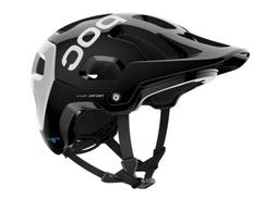 POC Tectal Race Spin Mountain Bike Helmet Black/White Size M