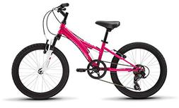 "Tess 20 Youth Girls 20"" Wheel Mountain Bike, Pink"