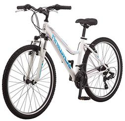"Schwinn High Timber Women's Mountain Bike, 26"" Wheels, White"