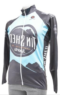 Pactimo Tin Shed Long Sleeve Thermal Cycling Jersey Men XS S