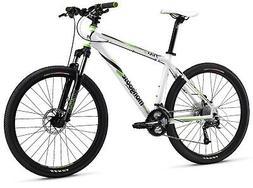 "Mongoose TYAX Comp Men's Mountain Bike, White, 16""/Small"