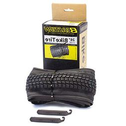 Eastern Bikes Premium Upgrade 26 x 1.95 Inch Tire with Tools