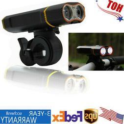 USB Rechargeable LED Bike Headlight Mountain/Hybrid Bicycle