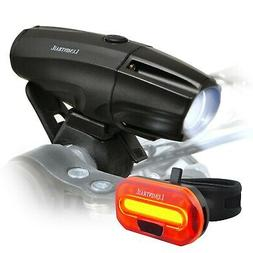 Lumintrail Bike Light 1000 Lumen USB Rechargeable LED Headli