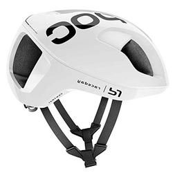 POC Ventral Spin, Cycling Helmet, Hydrogen White Raceday, L