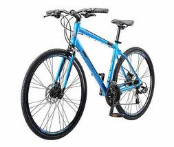 Schwinn Volare 1200 Men's Road Bike, 700C, Matte Blue