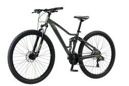 "Iron Horse Warrior 29"" Men's Mountain Bike Full Suspension F"